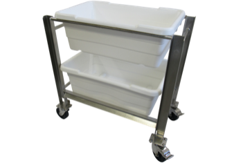 Featured Dual Bin Cart