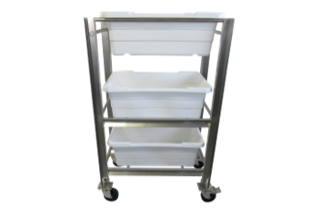 Featured Triple Bin Cart