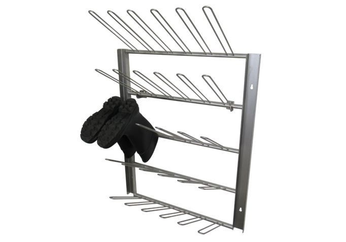 Wall Mounted Boot Rack